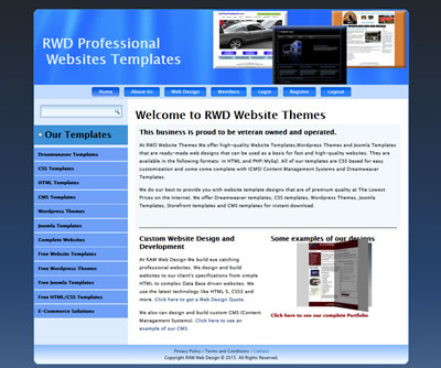 RWD Website Themes